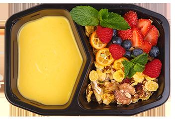 Манговый йогурт. Скандинавская гранола