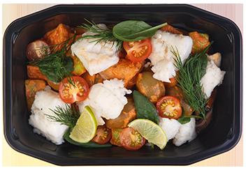 Рагу из судака и овощей