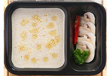Грибной крем-суп с трюфельным маслом