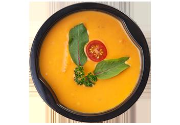 Крем-суп из тыквы и батата