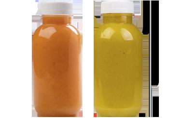 Детокс: Orange pump и Ginger beet