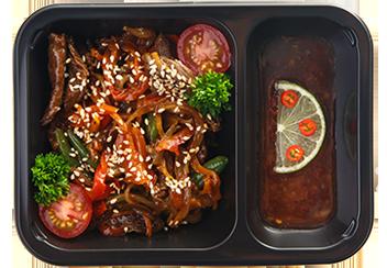 Стир фрай с говядиной и овощами
