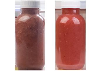 Детокс: Vegan smothies и Strawberry banan