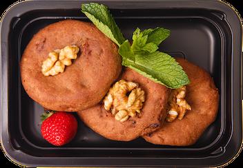 Печенье шоколад курага - кешью