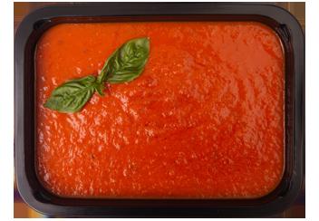 Томатный суп с оливковым маслом