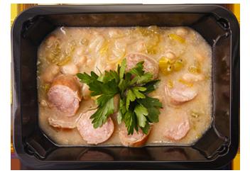 Суп с фенхелем и белой фасолью