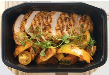 Цыпленок с овощами Самфайна