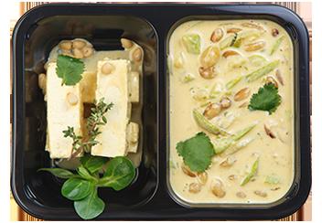 Карри с тофу и овощами