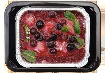 Творожно-ягодное суфле